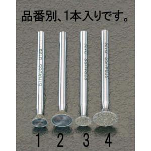 【メーカー在庫あり】 000012020576 エスコ ESCO 9.4x4.5mm ダイヤモンドバ...