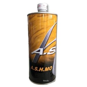 【メーカー在庫あり】 H-ASH-12600 アッシュオイル A.S.H OIL MO 鉱物油 エンジンオイル 10W-40 1L HD店|hirochi2