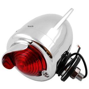 【メーカー在庫あり】 HD-01113 キジマ ブレットランプ 羽根付き 赤 M8 12V10W HD店|hirochi2