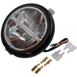 【メーカー在庫あり】 HD-01512 キジマ LEDヘッドライト 5.75インチ(146mm) ベーツハンガータイプ 12V10/6W 黒|hirochi2