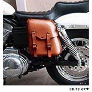 HZ-200 キジマ 牛革 スポーツスター専用サドルバッグ (ブラック) HD店|hirochi2