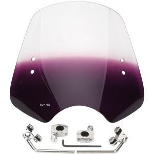 【USA在庫あり】 MEM1614 メンフィスシェード Memphis Shades ウインドシールド ハンドル取付金具付 シューター 紫 HD|hirochi2