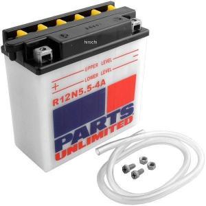 【USA在庫あり】 R12N5.5-4A Parts Unlimited バッテリー 開放型 12V Y12N5.5-4A HD店 hirochi2