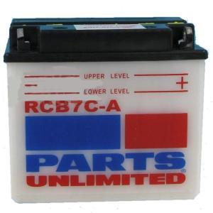【USA在庫あり】 RCB7CA パーツアンリミテッド Parts Unlimited 液別 耐久バッテリー 開放型 12V YB7C-A HD店 hirochi2
