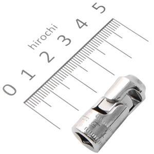シャロー ユニバーサル メトリック ソケットです。 サイズ:5.5mm 形式:6ポイント ソケットエ...