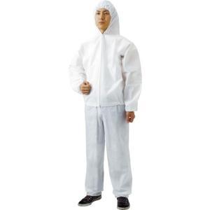 【メーカー在庫あり】 TPC-Z-M TPCZM  トラスコ中山(株) TRUSCO 不織布使い捨て保護服ズボン Mサイズ HD店|hirochi2