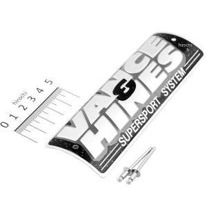 【USA在庫あり】 V22431 22431 バンス&ハインズ VANCE & HINES SS ネームプレート リベット付き hirochi2