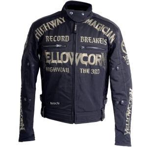 YB-8305 イエローコーン YeLLOW CORN 2018年秋冬モデル ウインタージャケット 黒/ゴールド Mサイズ JP店|hirochi2