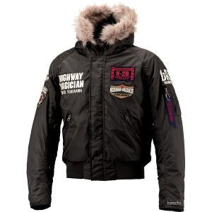 YB-8325 イエローコーン YeLLOW CORN 2018年秋冬モデル ウインタージャケット 黒 Lサイズ HD店|hirochi2