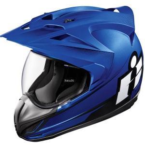 【USA在庫あり】 0101-10002 アイコン ICON フルフェイスヘルメット Variant Double Stack 青 3Xサイズ JP店|hirochi