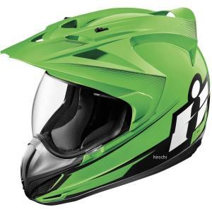 【USA在庫あり】 0101-10009 アイコン ICON フルフェイスヘルメット Variant Double Stack グリーン 3Xサイズ JP店|hirochi