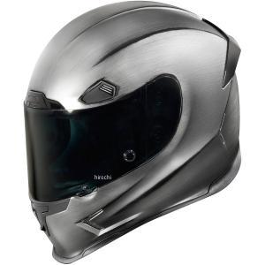【USA在庫あり】 0101-10176 アイコン ICON フルフェイスヘルメット Airframe Pro Quickシルバー 3XLサイズ JP店|hirochi