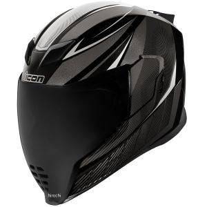 0101-12063 アイコン ICON 2019年春夏モデル フルフェイスヘルメット AIRFLITE QB1 黒 2XLサイズ JP店|hirochi