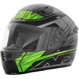 0101-8667 AFX フルフェイスヘルメット FX-24 タロン グリーン XSサイズ (53cm-54cm) JP店|hirochi