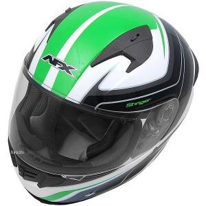 0101-8692 AFX フルフェイスヘルメット FX-24 スティンガー グリーン Mサイズ (57cm-58cm) JP店|hirochi
