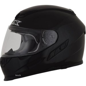 【USA在庫あり】 0101-9690 AFX フルフェイスヘルメット FX-105 黒(つや有り) XSサイズ (54cm-55cm) JP店|hirochi