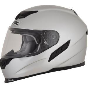【USA在庫あり】 0101-9702 AFX フルフェイスヘルメット FX-105 シルバー XSサイズ (54cm-55cm) JP店|hirochi