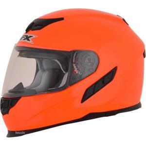 【USA在庫あり】 0101-9720 AFX フルフェイスヘルメット FX-105 オレンジ XSサイズ (54cm-55cm) JP店|hirochi