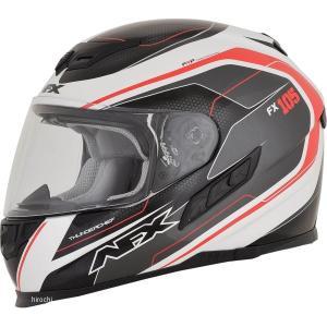 【USA在庫あり】 0101-9735 AFX フルフェイスヘルメット FX-105 チーフ 赤 Lサイズ (60cm-61cm) JP店|hirochi