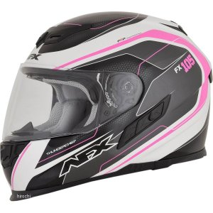 【USA在庫あり】 0101-9739 AFX フルフェイスヘルメット FX-105 チーフ ピンク Sサイズ (56cm-57cm) JP店|hirochi