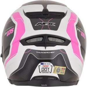 【USA在庫あり】 0101-9741 AFX フルフェイスヘルメット FX-105 チーフ ピンク Lサイズ (60cm-61cm) JP店|hirochi|03