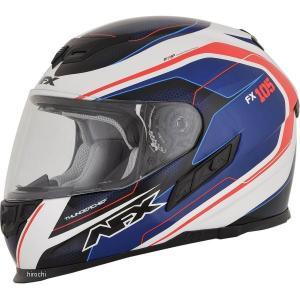 【USA在庫あり】 0101-9746 AFX フルフェイスヘルメット FX-105 チーフ 赤/白/青 Lサイズ (60cm-61cm) JP店|hirochi