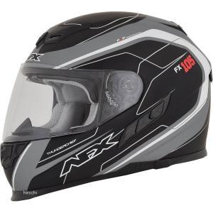 【USA在庫あり】 0101-9750 AFX フルフェイスヘルメット FX-105 チーフ グレー/白 Sサイズ (56cm-57cm) JP店|hirochi