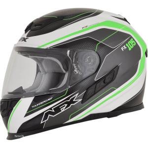 【USA在庫あり】 0101-9764 AFX フルフェイスヘルメット FX-105 チーフ グリーン Lサイズ (60cm-61cm) JP店|hirochi