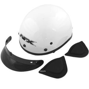 【USA在庫あり】 0103-0446 AFX ハーフヘルメット FX-70 Beanie 白 XXLサイズ (63cm-64cm) JP店 hirochi