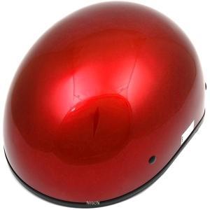 【USA在庫あり】 0103-1002 AFX ハーフヘルメット FX-200 Slick Beanie キャンディアップルレッド Lサイズ (60cm-61cm) JP店|hirochi