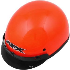 【USA在庫あり】 0103-1052 AFX ハーフヘルメット FX-70 Beanie セフティーオレンジ XSサイズ (54cm-55cm) JP店|hirochi