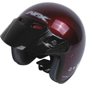 【USA在庫あり】 0104-0089 AFX ジェットヘルメット FX-75 ワインレッド XSサイズ (53cm-54cm) JP店|hirochi