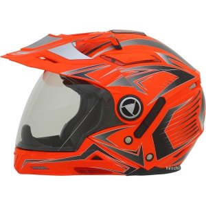 0104-1621 AFX システムヘルメット FX-55 マルチ オレンジ XXLサイズ (64cm-65cm) JP店|hirochi