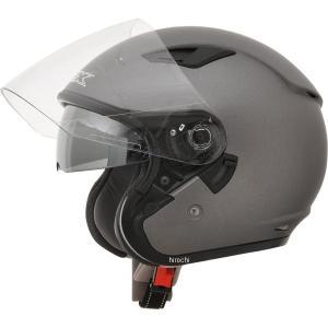 【USA在庫あり】 0104-1875 AFX ジェットヘルメット FX-46 フロストグレー Mサイズ (57cm-58cm) JP店|hirochi