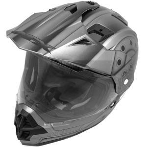 0110-4162 AFX オフロードヘルメット FX-39 ヒーロー グレー Mサイズ (58cm-59cm) JP店|hirochi