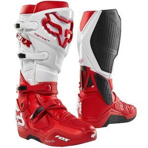 【メーカー在庫あり】 12252-003-8 フォックス FOX ブ-ツ インスティンクト2.0ブーツ用  赤 8 (26.0cm) JP店|hirochi