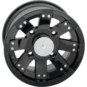【USA在庫あり】 0230-0234 ビジョンホイール Vision Wheel ホイール 158 12x7 4/136 4+3 フロント 黒 JP hirochi