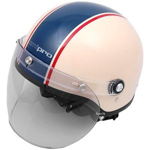 0SHGC-FL1A-WBF ホンダ純正 春夏モデル ジェットヘルメット Ami pro アイボリー/青 フリーサイズ JP店|hirochi