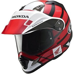 0SHGK-RT1A-R ホンダ純正 HONDA×Arai フルフェイスヘルメット ツアークロス 赤 Lサイズ JP店|hirochi