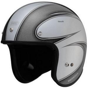 0SHGS-JS4A-S ホンダ純正 ジェットヘルメット JS-4 シルバー Lサイズ (59cm) JP店|hirochi