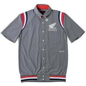 0SYEL-15F-N ホンダ純正 2019年秋冬モデル 裾リブピットシャツ SS グレー 4Lサイズ JP店|hirochi