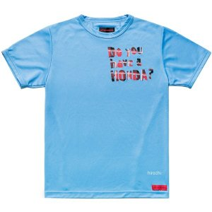 0SYEL-X55-B ホンダ純正 春夏モデル Honda×SHINICHIRO ARAKAWA 「Do you have a HONDA?」Tシャツ 青 3Lサイズ JP店|hirochi