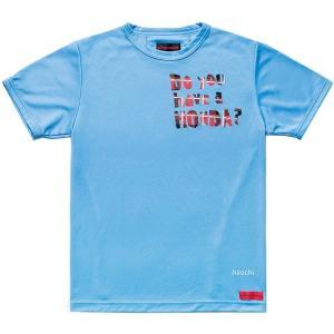 0SYEL-X55-B ホンダ純正 春夏モデル Honda×SHINICHIRO ARAKAWA 「Do you have a HONDA?」Tシャツ 青 Sサイズ JP店|hirochi