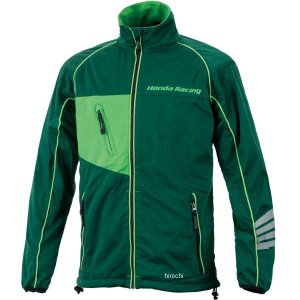 0SYEX-W5V-A ホンダ純正 ウインドストップ・レイヤードジャケット 緑 4Lサイズ JP店 hirochi
