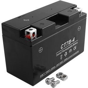 CT7B-4 NBS バイクパーツセンター MFバッテリー 12V YT7B-4、GT7B-BS、FT7B-4互換 JP店|hirochi