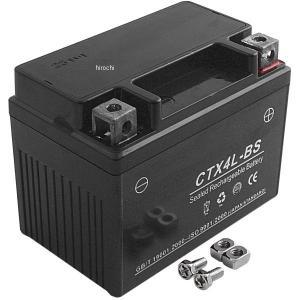【メーカー在庫あり】 CTX4L-BS NBS バイクパーツセンター MFバッテリー 12V YTX4L-BS互換 JP店|hirochi