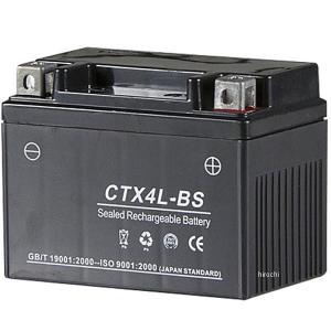 【メーカー在庫あり】 CTX4L-BS NBS バイクパーツセンター MFバッテリー 12V YTX4L-BS互換 5個入り JP店|hirochi