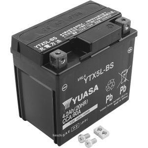 【メーカー在庫あり】 YTX5L-BS 台湾ユアサバッテリー 12V FTX5L-BS互換 JP店|hirochi