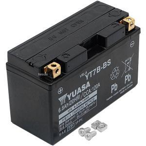 【メーカー在庫あり】 YT7B-BS 台湾ユアサバッテリー 12V FT7B-4互換 JP店|hirochi
