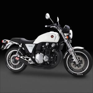 110-410-4640 ヨシムラ 手曲ストレートサイクロン R-VINTAGE フルエキゾースト 10年 CB1100 スチール (SC)|hirochi